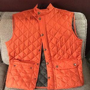 Barbour orange vest